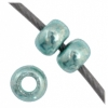 Czech Seedbead 11/0 Light Teal Metallic Solgel